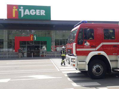 Gasilska vaja PGD Ostrožno v sodelovanju s podjetjem Jager
